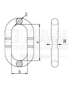 300 1405 EVM Link drawing
